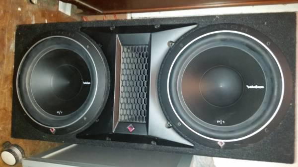 Rockford Fosgate Speakers and Amp - $225