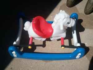 rocking bouncy horse