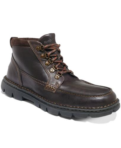 Rockport Rocsports Lite Rugged Moc-Toe Boots