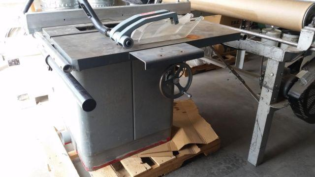 homecraft rockwell saw table series lot
