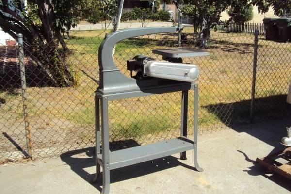Rockwell Delta 24 Quot Scroll Saw With Original Metal Stand