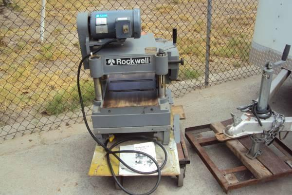 Rockwell Invicta 13 Planer 2 HP Single Phase 220v Made in Brazil