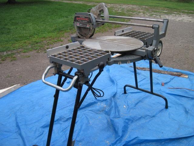 Rockwell Sawbuck Frame Trim Saw For Sale In Sterling Michigan