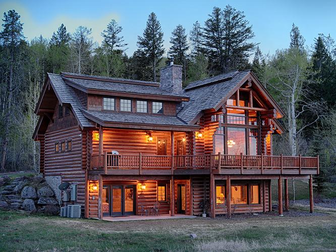 Rocky Mountain Cabin In Teton Springs For Sale In Victor