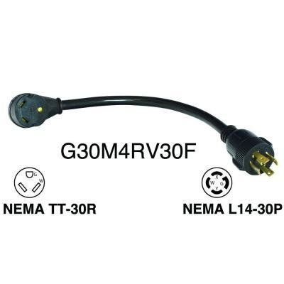 Amp Receptacle Wiring Diagram For Camper on