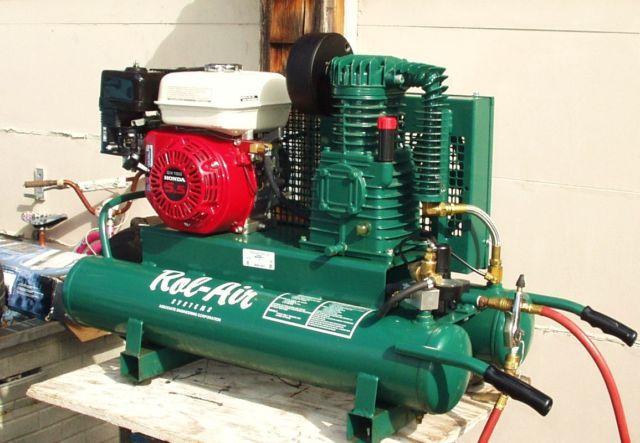 Rolair Wheelbarrow Gas Powered Compressor For Sale In