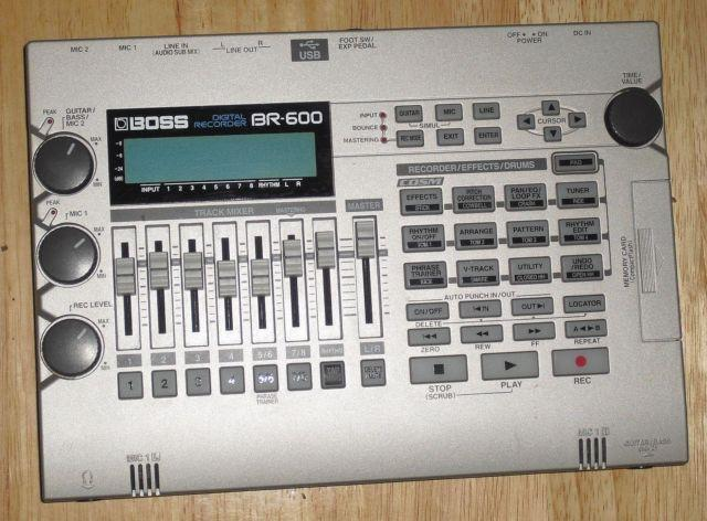 roland boss br600 multitrack recorder for sale in saint louis missouri classified. Black Bedroom Furniture Sets. Home Design Ideas