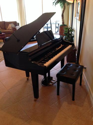 Roland Kr 977 Baby Grand Piano For Sale In West Palm Beach
