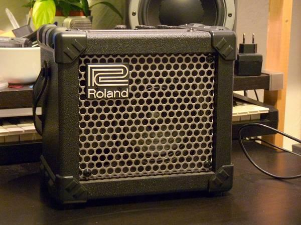 Roland Micro Cube Guitar Amplifier - $80