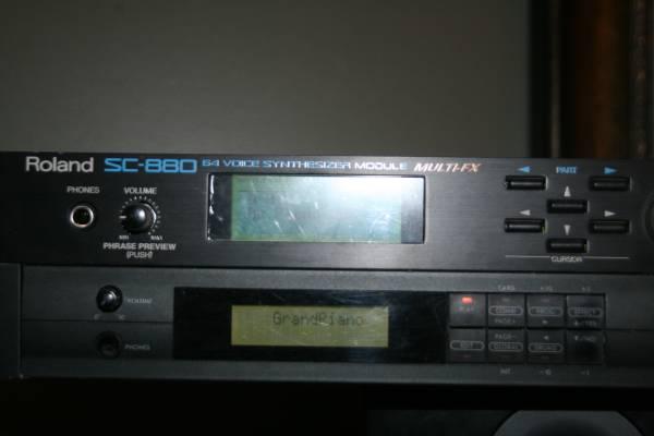 Roland SC-880 Sound Module - $150