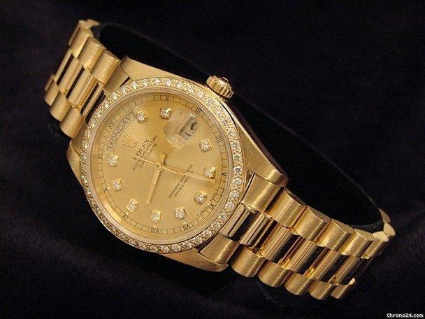 Rolex Day Date Gold Famous People