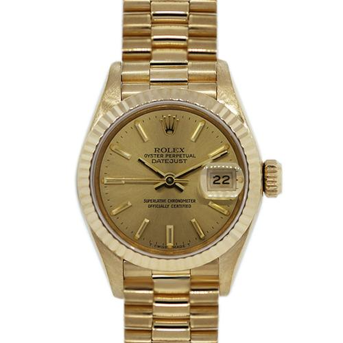 Rolex 69178 18k Yellow Gold Ladies Presidential Watch