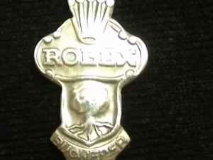 Rolex collector spoon marked cb 6 9 bucherer of for Best jewelry stores in fresno ca