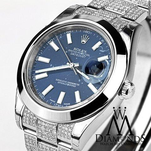 Rolex Datejust Ii Blue Dial 41mm Automatic Watch