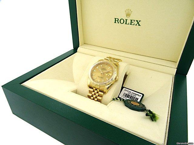 Rolex Datejust - Solid Gold