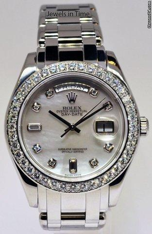 Rolex Day-Date Masterpiece Platinum & Diamond