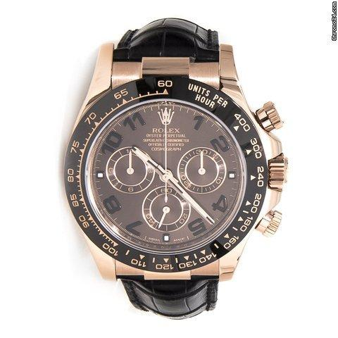 9ad42db9508 Rolex Daytona 18K Solid Rose Gold Chocolate Dial for Sale in ...