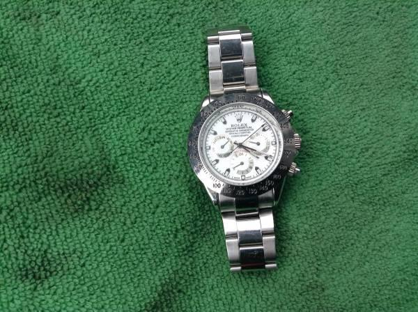 Rolex Daytona - white face lowered price a lot - $1500