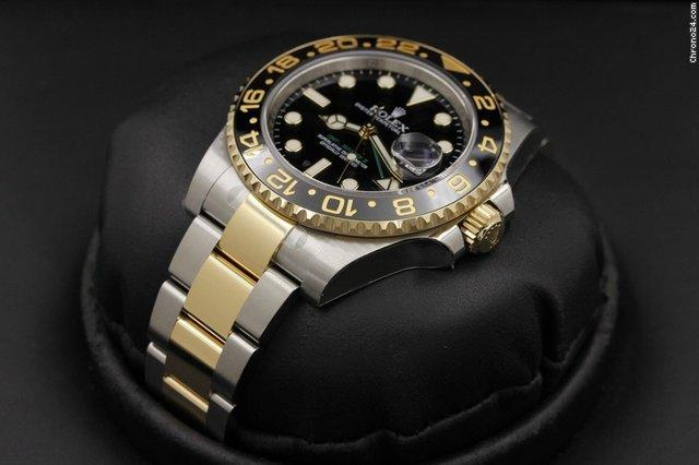 Rolex GMT-Master II - 116713 - 18k  SS - RANDOM Serial - NEW IN BOX