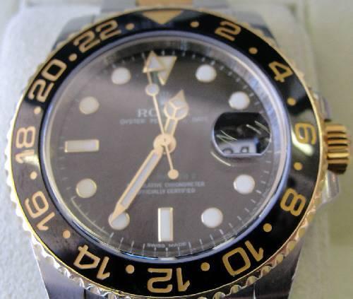 ROLEX GMT MASTER II - $8000