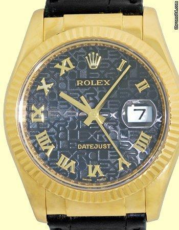 Rolex Jubilee Datejust.