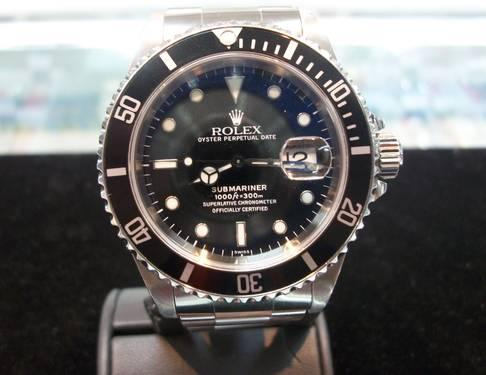 ROLEX - Mens 40mm Stainless Steel SUBMARINER Black
