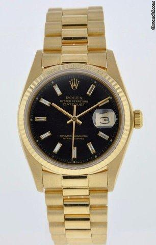 Rolex OYSTER PERPETUAL DATEJUST YELLOW GOLD PRESIDENT BRACELET