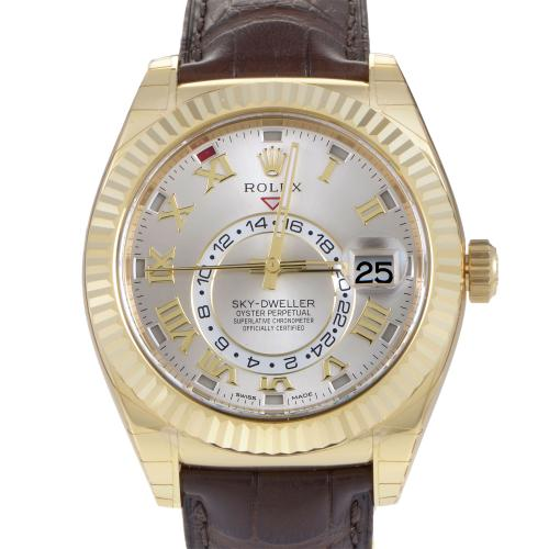 Rolex Oyster Perpetual Sky-Dweller Mens Automatic Watch