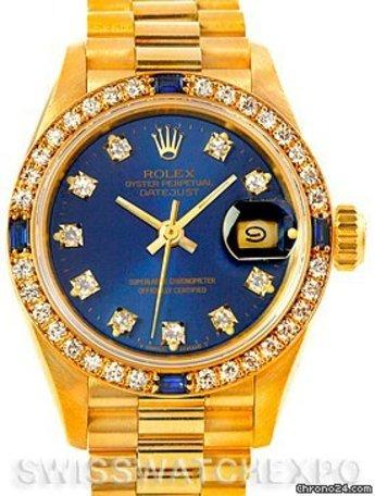 All Gold Rolex With Diamonds