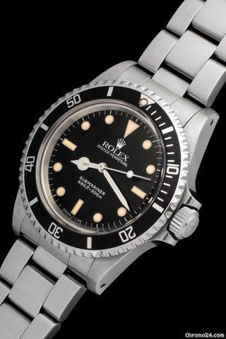 Rolex Submariner 5513 Box And Papers Full Set Price On Request
