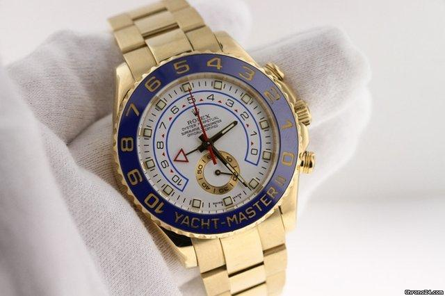 Rolex Yellow Gold Yacht-Master II 116688.