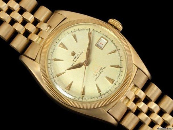 Gold rolex 1952 chronograph