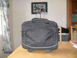 Rolling Laptop Bag in excellent condition - $20