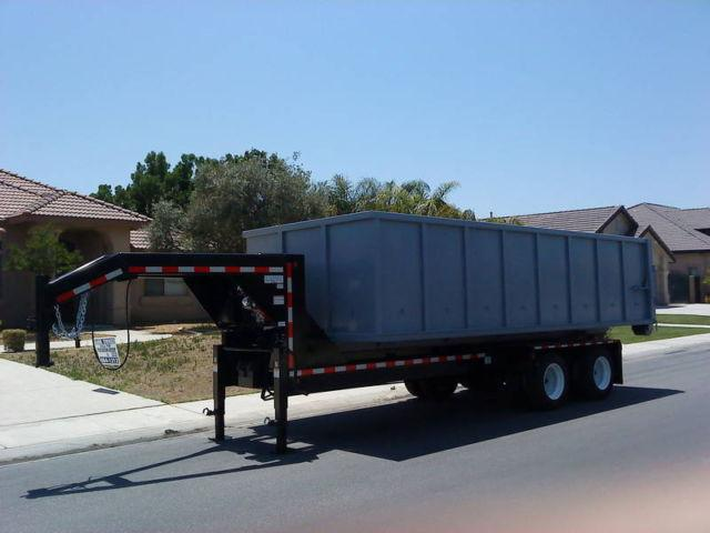rolloff gn gooseneck dump trailer for sale in bakersfield  california classified