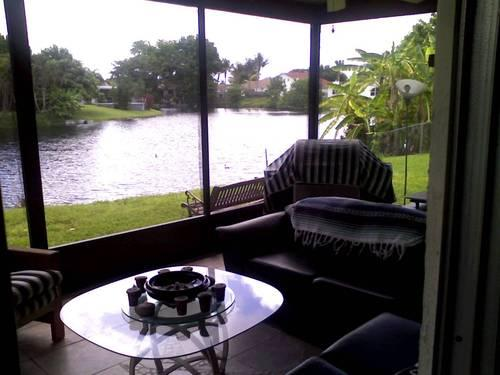 Room For Rent Deerfield Beach Lakeside Porch Grill