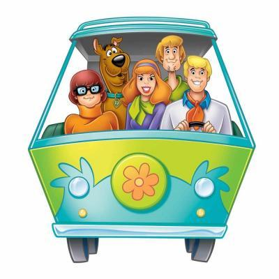 RoomMates Scooby Doo Mystery Machine Peel and Stick
