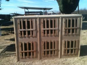 rooster/carrying box/stall pens/ (fresno area)