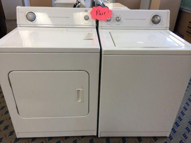 Roper Washer Amp Dryer Set Pair Used For Sale In Tacoma