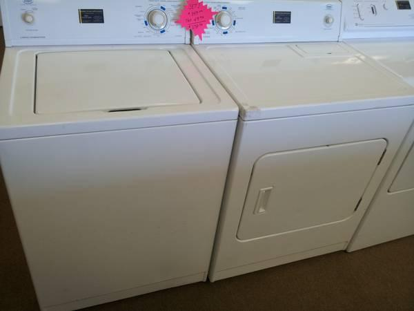ROPER WASHER & ELECTRIC DRYER SET - $349