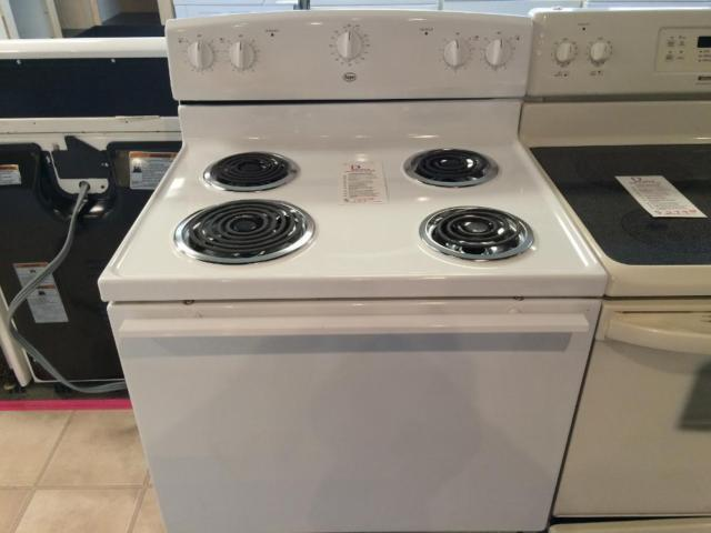 Roper white electric range stove oven used for sale in for Lakewood wood stove for sale