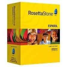 Rosetta Stone Spanish Latin America  Version 3 Levels 1-5 Deluxe - $330 Medford