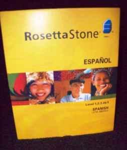 Rosetta Stone Spanish V3 - $300 NRV