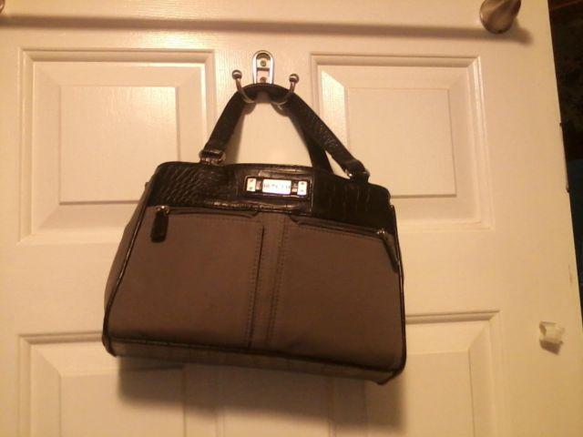 Rosetti mini crossbody handbag with outside pockets