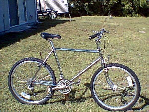Ross Chrome 15 Speed Men's Mountain Bike - $150
