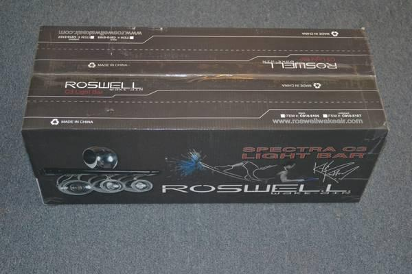ROSWELL ELITE C3 LIGHT BAR - $245