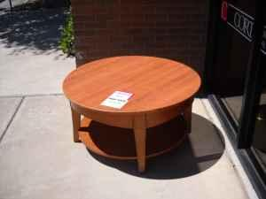 Round Coffee Table Cort Furniture For Sale In