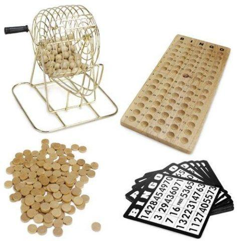Royal Bingo Supplies Wooden Bingo Game
