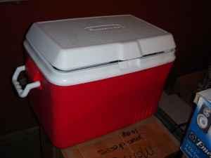 Rubbermaid Cooler - $10 Juneau