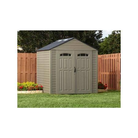Rubbermaid roughneck xl 7 39 x7 39 outdoor storage shed for for Large storage sheds for sale