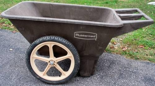 Rubbermaid Yard Cart Heavy Duty For Sale In Cincinnati Ohio Classified